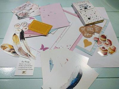 Postpapier set